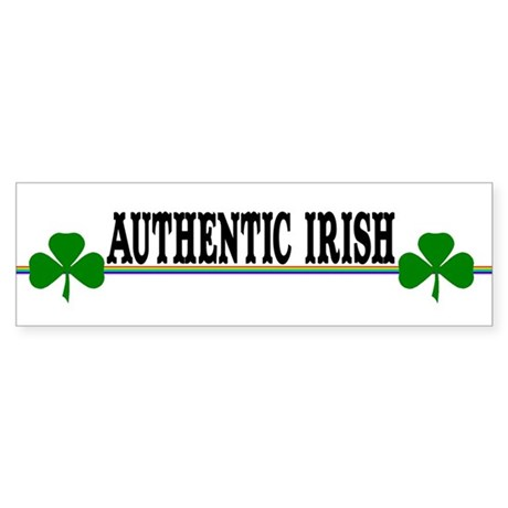 Authentic Irish Bumper Sticker