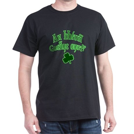 Speak Irish? Black T-Shirt