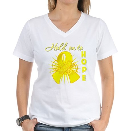 Sarcoma Women's V-Neck T-Shirt
