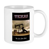Texas Pumpjack Small Mug