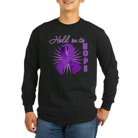 Leiomyosarcoma Long Sleeve Dark T-Shirt