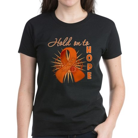 Kidney Cancer Women's Dark T-Shirt