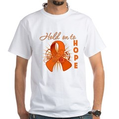 Kidney Cancer White T-Shirt