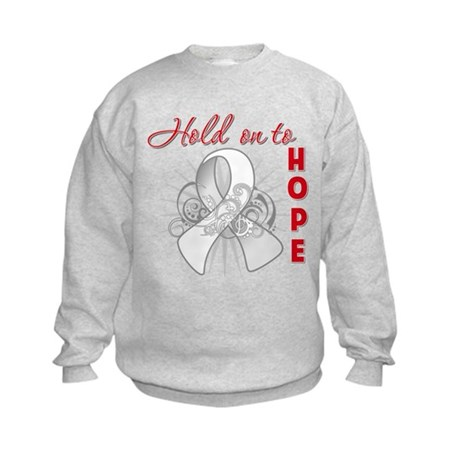 Bone Cancer Kids Sweatshirt