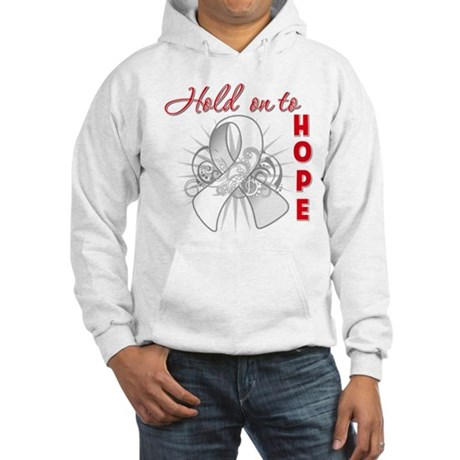Bone Cancer Hooded Sweatshirt
