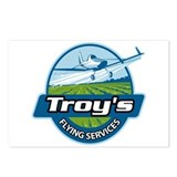 Troy's Flying Services Postcards (Package of 8)
