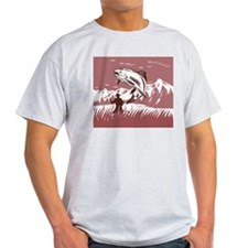 fly fishing trout T-Shirt