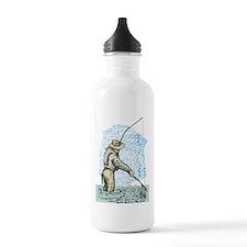 Fly fishing trout Water Bottle