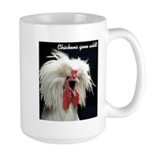 """Chickens Gone Wild 2"" Mug"