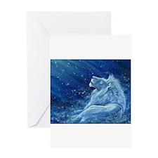 Star Lion Greeting Card