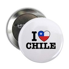 "I Love Chile 2.25"" Button"