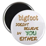 "Bigfoot 2.25"" Round Magnet"