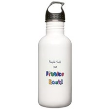 People Suck, Pitties Rock Water Bottle