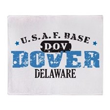 Dover Air Force Base Throw Blanket