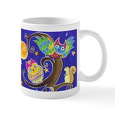 Night time owl and friends Mug