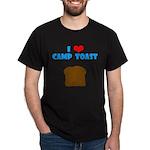 """I <3 Camp Toast"" Dark T-Shirt"