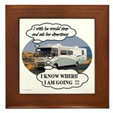 Ask For Directions !! Framed Tile