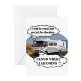 Ask For Directions !! Greeting Cards (Pk of 10