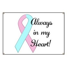 Always in my Heart - Infant L Banner