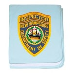New Hampshire Inspector baby blanket
