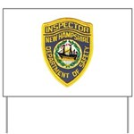 New Hampshire Inspector Yard Sign