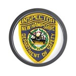 New Hampshire Inspector Wall Clock