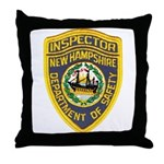 New Hampshire Inspector Throw Pillow