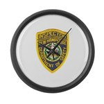 New Hampshire Inspector Large Wall Clock