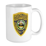 New Hampshire Inspector Large Mug