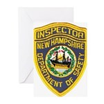 New Hampshire Inspector Greeting Cards (Pk of 20)