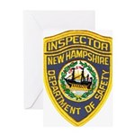 New Hampshire Inspector Greeting Card