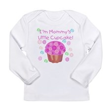 Mommy's Little Cupcake Long Sleeve Infant T-Shirt