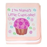 Nana's Little Cupcake baby blanket