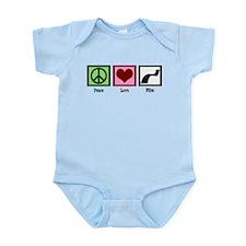 Peace Love Film Infant Bodysuit