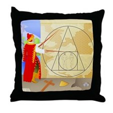 Philosopher's Stone - Throw Pillow