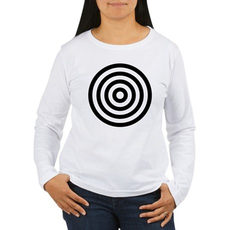 Bullseye Women's Long Sleeve T-Shirt