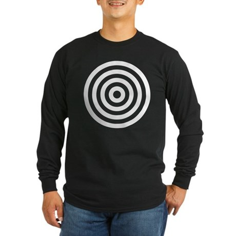 Bullseye Long Sleeve Dark T-Shirt