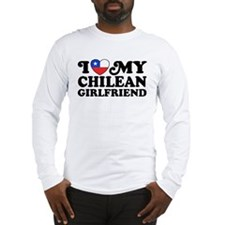 I Love My Chilean Girlfriend Long Sleeve T-Shirt
