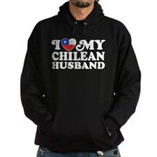 I Love My Chilean Husband Hoodie