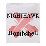 Nighthawks Bombshell Throw Blanket