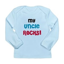 My Uncle Rocks Long Sleeve Infant T-Shirt