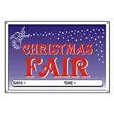 Christmas Fair Banner