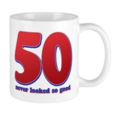 50 years never looked so good Mug