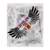 Nighthawk Wings Throw Blanket