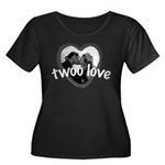 Twoo Love Princess Bride Women's Plus Size Scoop N