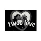Twoo Love Princess Bride Rectangle Magnet