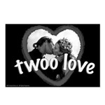 Twoo Love Princess Bride Postcards (Package of 8)