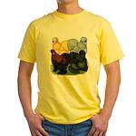 Silkie Assortment Yellow T-Shirt
