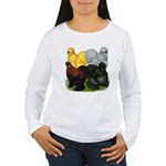 Silkie Assortment Women's Long Sleeve T-Shirt