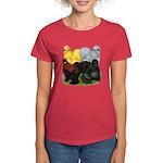 Silkie Assortment Women's Dark T-Shirt